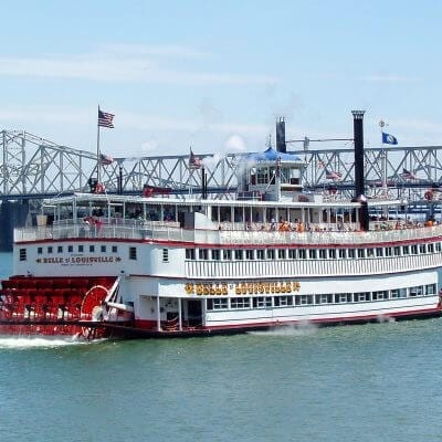 Belle of Louisville | Ohio River | Cruise | Bridge | Spring |