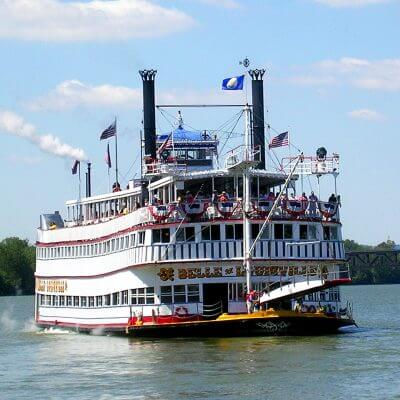 Belle of Louisville | Cruise | Sailing | Front View | Ohio River